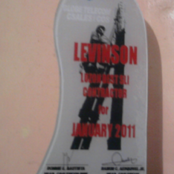 Luzon Best SLI Contractor for January 2011